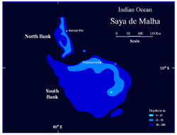 Map of Saya de Malha