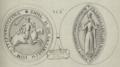 Sceaux d'Hugues X et d'Isabelle d'Angoulême.png