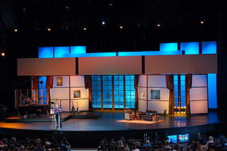 Scenic design creation of theatrical or film scenery