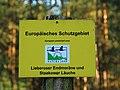 Schild Natura 2000 Lieberoser Endmoraene und Staakower Laeuche 01.JPG