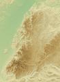 Schwarzwald (Relief) - Deutsche Mittelgebirge, Serie A-de.png