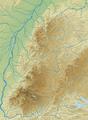 Schwarzwald (Relief und Gewässer) - Deutsche Mittelgebirge, Serie A-de.png