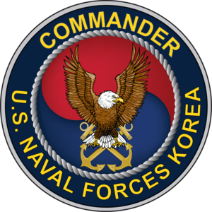 Commander Naval Forces Korea - The current seal of the Commander of United States Naval Forces Korea, adopted in 2010.