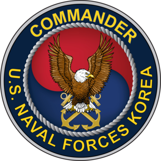 U.S. Naval Forces Korea - The current seal of the Commander of United States Naval Forces Korea, adopted in 2010.