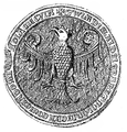 Seal of Wladislaus I of Poland after 1320.PNG