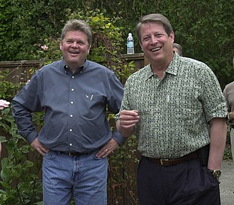 Greg Nickels - Mayor Nickels with former Vice President and environmentalist Al Gore