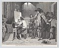 """Sebastian Gomez Discovered by His Master Murillo, At Work (from the """"Illustrated London News"""") MET DP872975.jpg"""