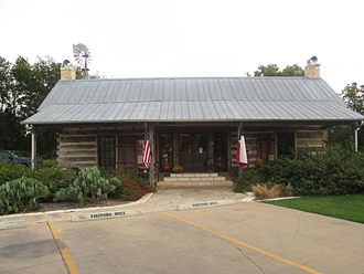 William Whitaker Reed - The Salado Visitors Center is built in part from timber preserved from William W. Reed's 1850 homestead.