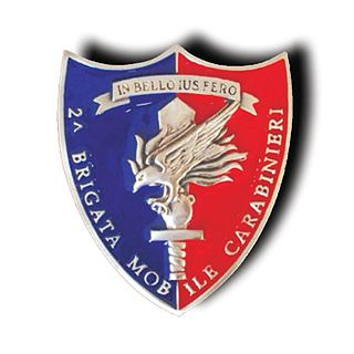 2nd Carabinieri Mobile Brigade Military unit of monoarma Carabinieri , depending on the Division police mobile units.