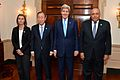 Secretary Kerry Poses for a Photo With UN Secretary General Ban Ki-moon, Egyptian Foreign Minister Shoukry, and EU High Representative Mogherini.jpg