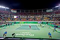 Secretary Kerry Watches U.S. Tennis Player Venus Williams Serve to Belgian Tennis Player Kirsten Flipkens (28736163311).jpg