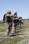 Security Force Marines conduct trilateral exercise during Lisa Azul 150310-M-XZ244-540.jpg