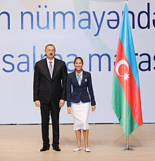 Seeing-off ceremony for Azerbaijani sportsmen to represent the country at the London 2012 Summer Olympic Games 4.jpg