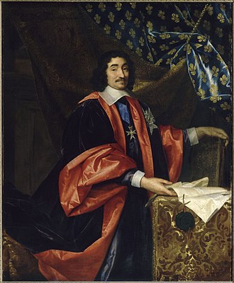 Pierre Séguier - Pierre Seguier painted by Henri Testelin (ca. 1668).