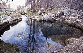 Segura - Source of the Segura River.