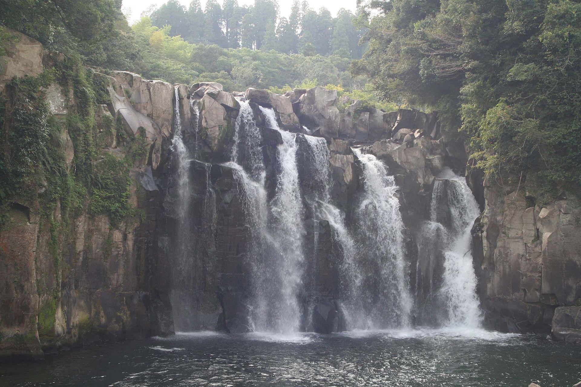 関之尾の滝(2007年9月10日撮影)