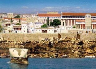 Ricostruzione della acropoli e dei suoi templi