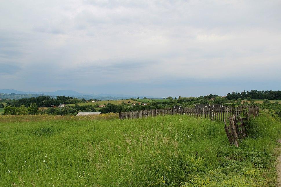 Selo Zlatarić - opština Valjevo - zapadna Srbija - Panorama 4