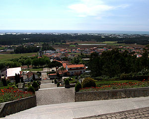 Localities of Póvoa de Varzim - Senhora da Saúde at the foot of São Félix Hill.