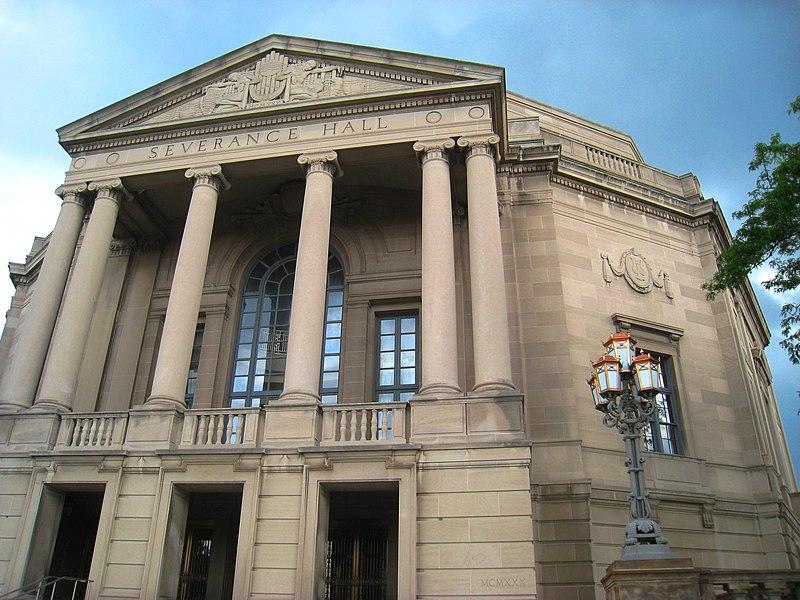 File:Severance Hall front, Cleveland, Ohio.jpg