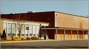 Seymour High School (Connecticut) - Seymour High School before its renovations