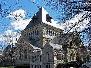 Shepley, Rutan and Coolidge - Shadyside Presbyterian Church, Pittsburgh, Pennsylvania (1890)