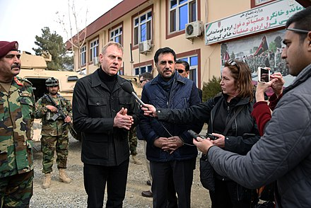 Shanahan in Afghanistan, February 11, 2019