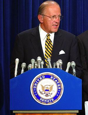 Sherwood Boehlert - Boehlert at a press conference