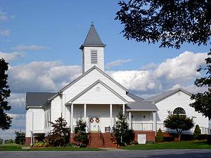 Tusculum, Tennessee - Shiloh Cumberland Presbyterian Church in Tusculum