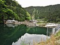 Shimomura power station weir lake.jpg