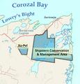 Shipstern CMA Map.png