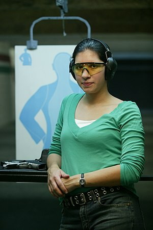 H&H Shooting Sports - Shooter at the Range