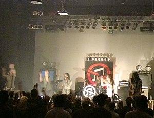 Showbread (band) - Showbread in Jacksonville, Florida.