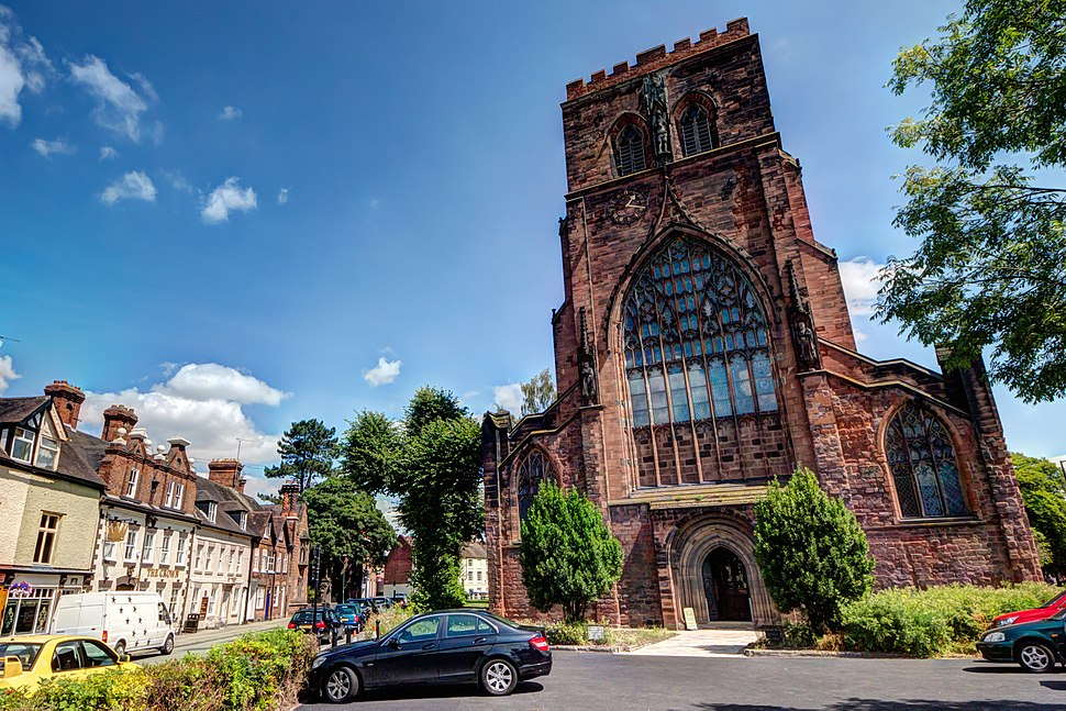 Shrewsbury Abbey 2014