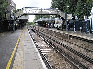 Sidcup railway station - Image: Sidcup railway station, Greater London