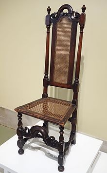 Wonderful A William And Mary Style Chair Made In America.