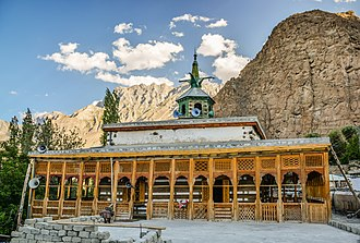 Chaqchan Mosque - The Kashmiri-style Chaqchan Mosque was built in 1370, shortly after the area's conversion to Islam