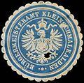 Siegelmarke Bürgermeisteramt Kleinschmalkalden W0383013.jpg