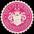 Siegelmarke Der Rath der Stadt - Ehrenfriedersdorf W0220620.jpg