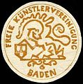 Siegelmarke Freie Künstlervereinigung Baden W0228025.jpg