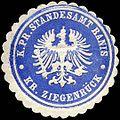Siegelmarke Königlich Preussische Standesamt Ranis - Kreis Ziegenrück W0224300.jpg