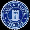 Siegelmarke Markt-Gemeinde Oberhaid W0318450.jpg