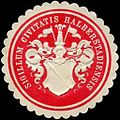 Siegelmarke Sigillum Civitatis Halberstadiensis W0226688.jpg