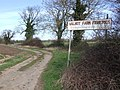 Sign and Track to Fisheries - geograph.org.uk - 363964.jpg