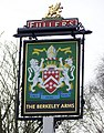 Sign for the Berkeley Arms - geograph.org.uk - 1721634.jpg