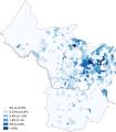 Sikhism Bristol 2011 census.png
