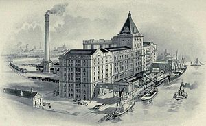 Co-operative wholesale society - Image: Silvertown CWS Flour Mill