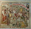 Simone dei crocifissi e jacobus, guarigione del paralitico, 1350-60 ca., da oratorio di mezzaratta.jpg