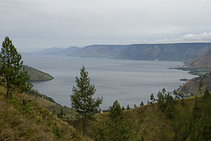 North Sumatra - Lake Toba, World's largest volcanic lake