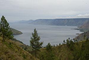 North Sumatra - Lake Toba, World's largest volcanic lake